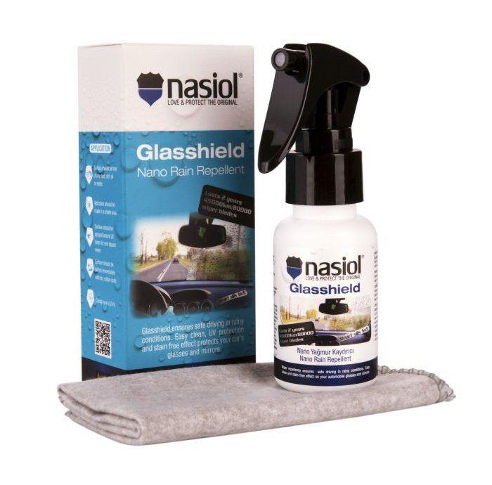 Repelente de Chuva Premium Glasshield 50ml Nasiol