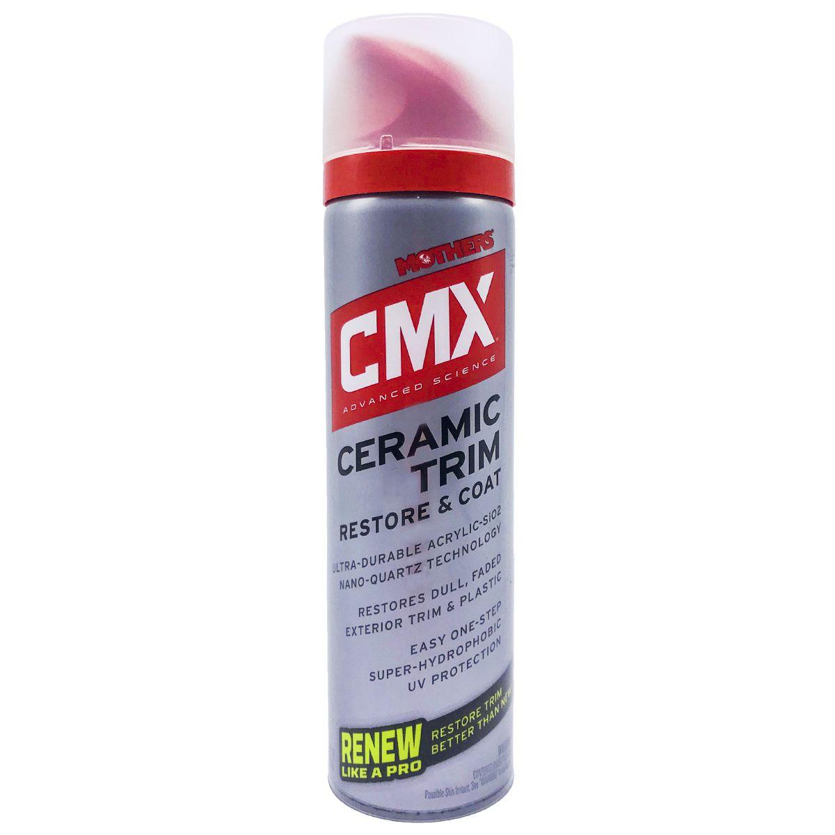 Restaurador de Plásticos CMX Ceramic Trim Mothers 200ml