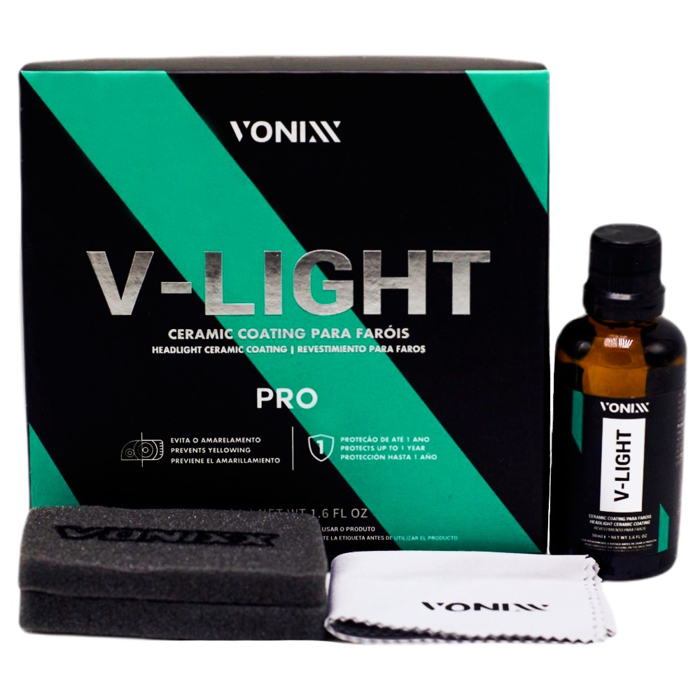 Revestimento para Farois V Light 50ml Vonixx