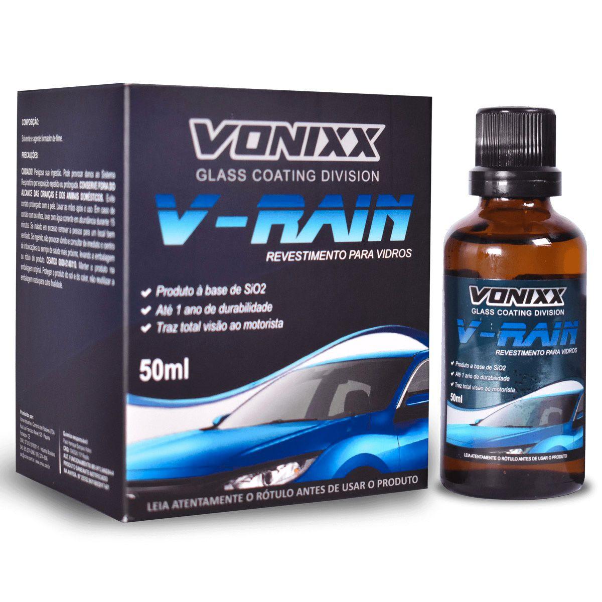 Revestimento para Vidros V-Rain 50ml Vonixx