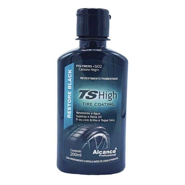 Revestimento Pigmentado TsHigt para Pneus 200ml Alcance