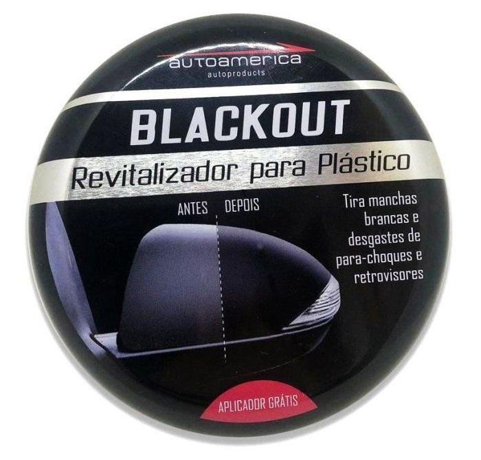 Revitalizador de Plastico Blackout 100g Autoamerica