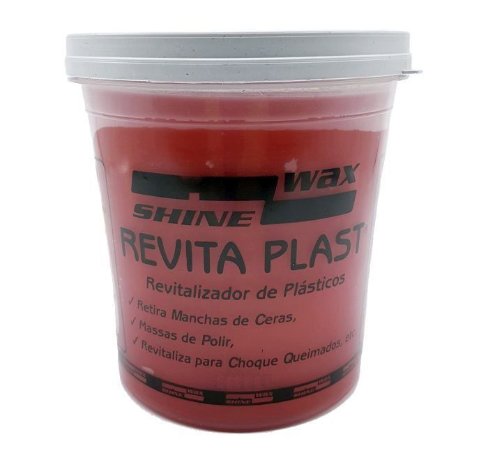 Revitalizador de Plasticos Revita Plast 900g Shine Wax