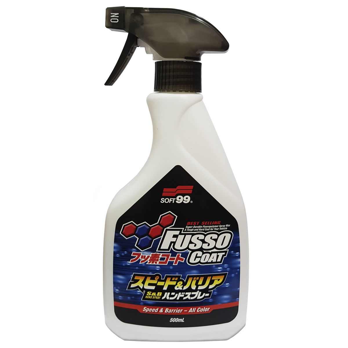 Selante em Spray Manutenção de Pintura Fusso Speed Barrier 500ml Soft99