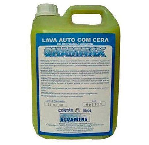 Shampoo com Cera Shamwax 5L Alvamine