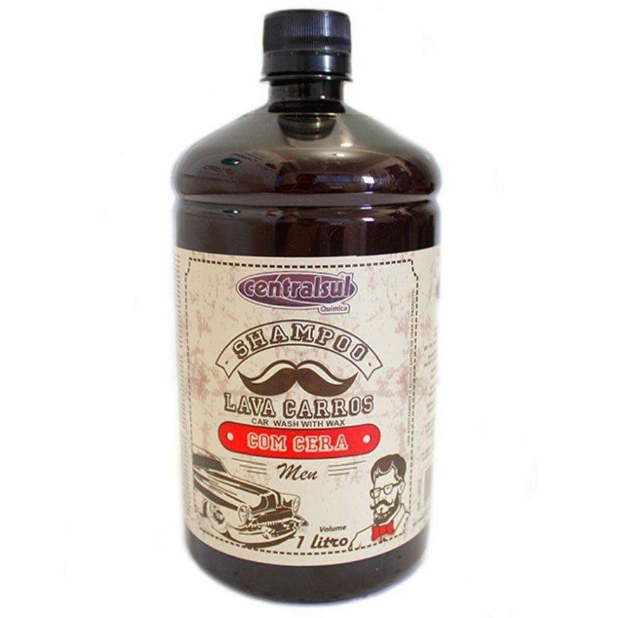 Shampoo Lava Carros Com Cera Men 1 Litro Centralsul
