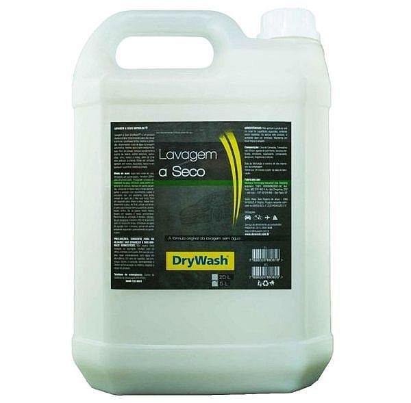 Shampoo Para Lavagem A Seco Neutro Solução Eleva 5 Litros Drywash