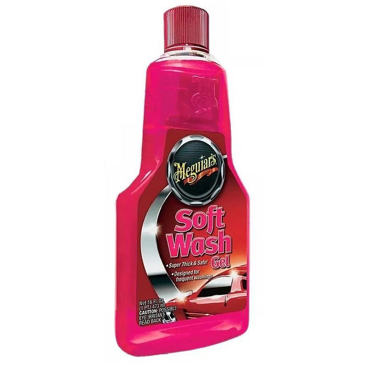 Shampoo Soft Wash Gel Meguiars 473ml A2516