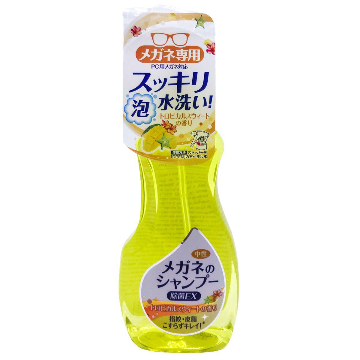 Shampoo Spray para Óculos Extra Clean Tropical 200ml Soft99
