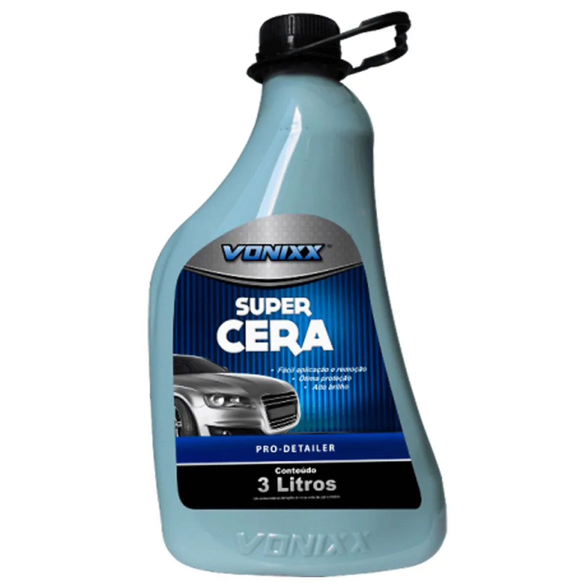 Super Cera 3L Vonixx + Flanela 40x60cm Autoamerica