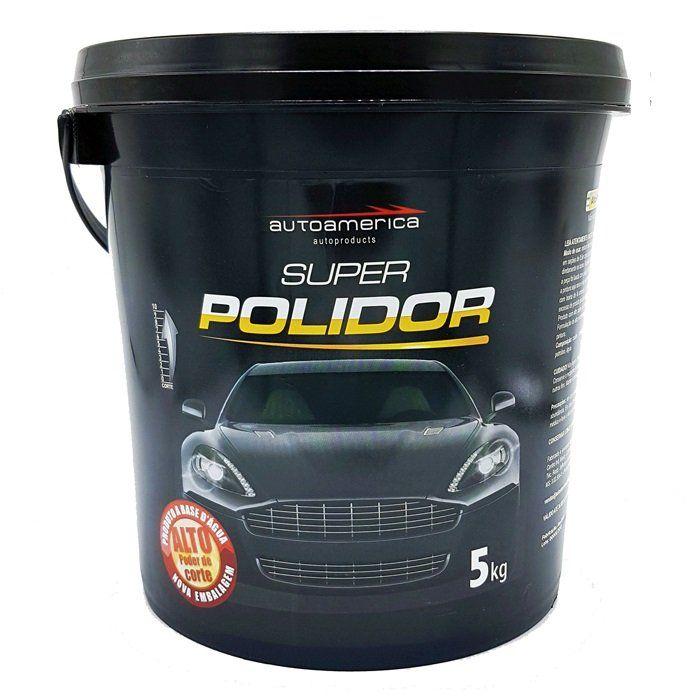 Super Polidor Autoamerica - 5kg