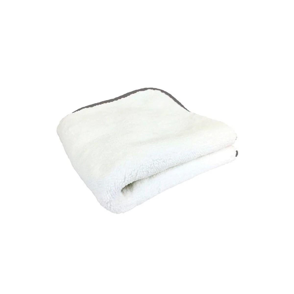 Toalha de Microfibra 1000Gsm Branca 40x40 Autoamerica