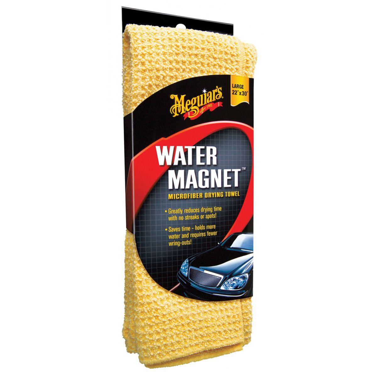 Toalha Para Enxugar Amarela Meguiars Water Magnet X2000