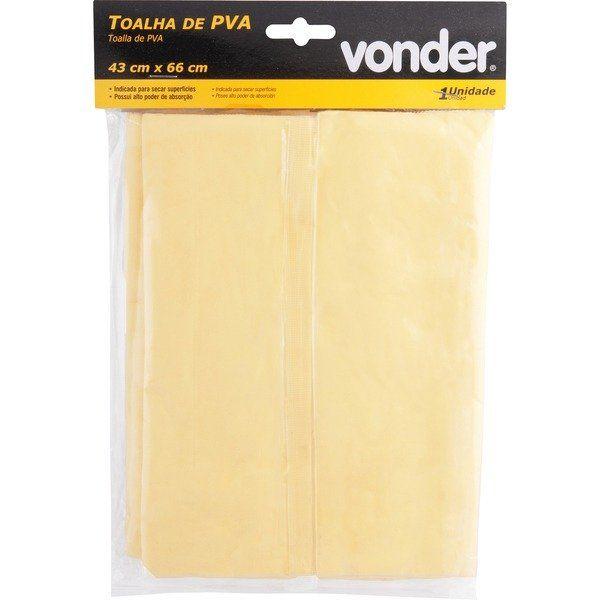 Toalha de Pva 43x66cm Pva Vonder