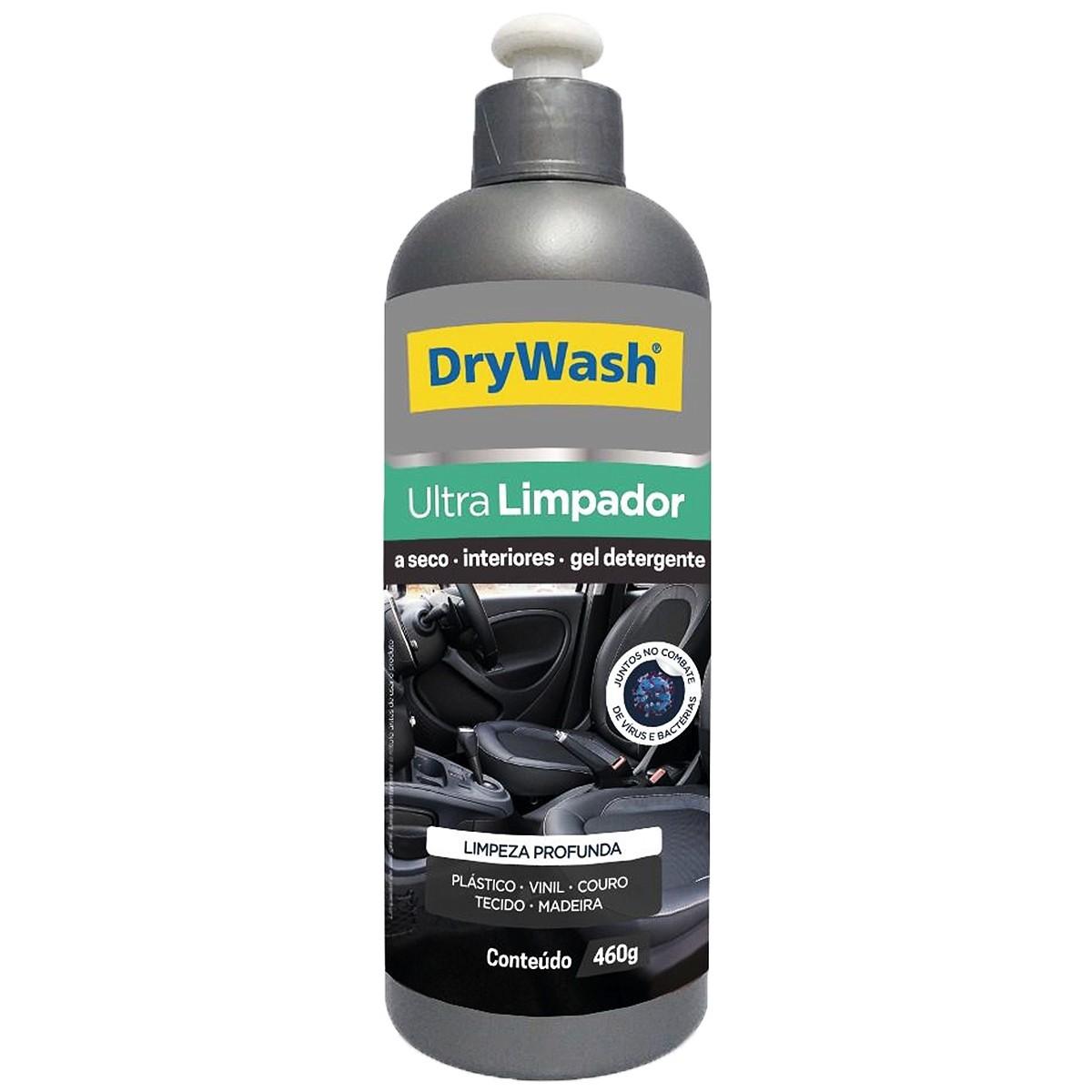 Ultra Limpador Detergente Gel a Seco 460g DryWash