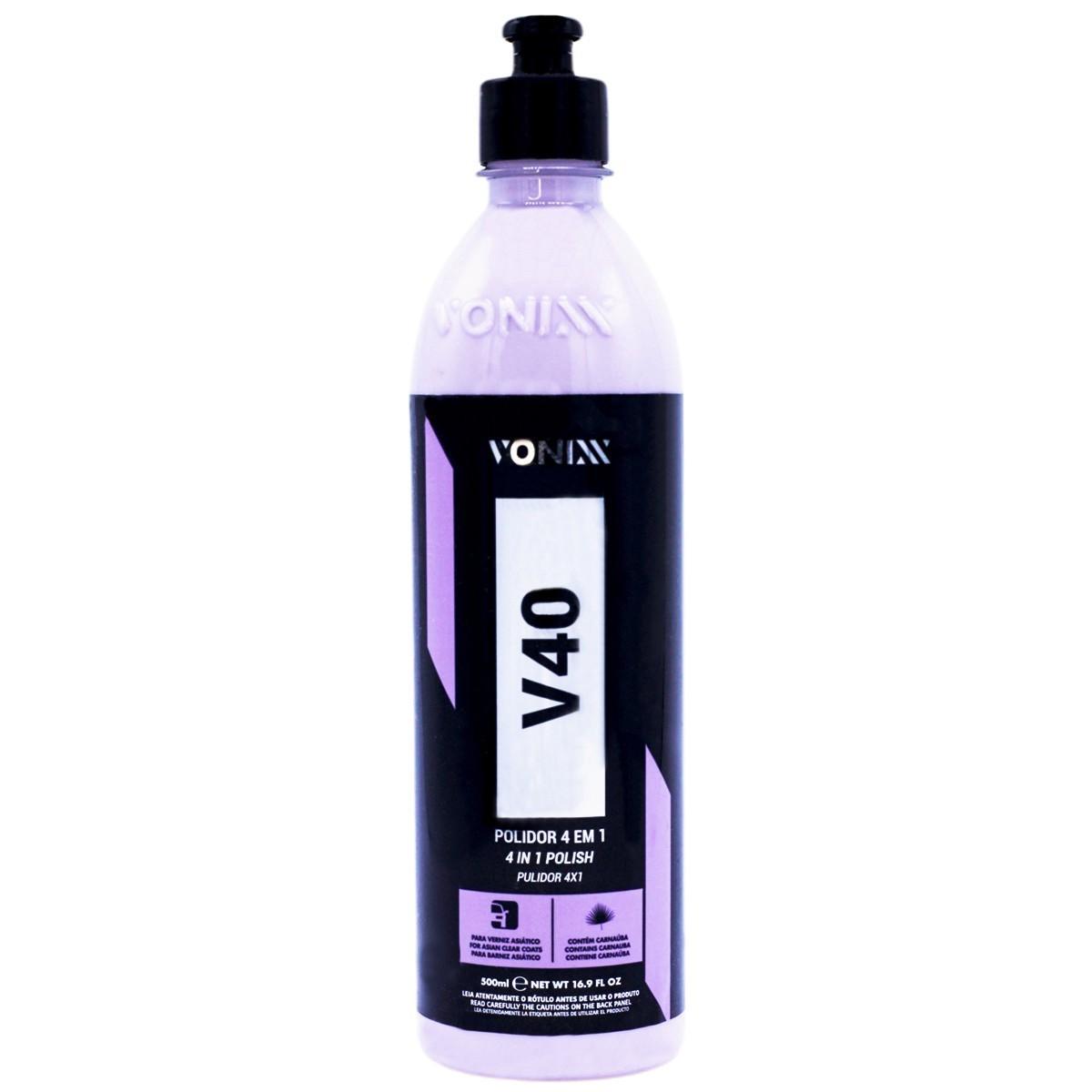 V40+V80+Blend+Restaurax+Shiny+Aplicador+Flanelas