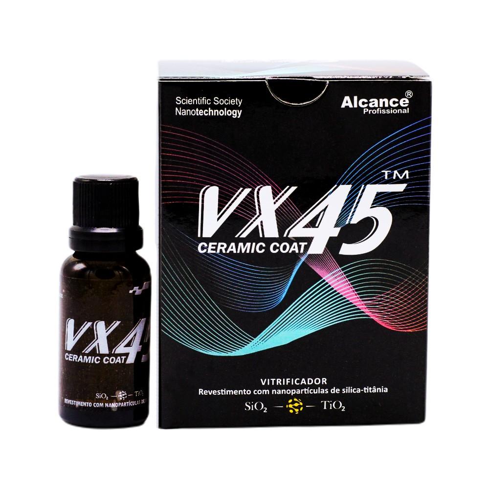 Vitrificador de Pintura VX45 Ceramic Coat 60ml Alcance