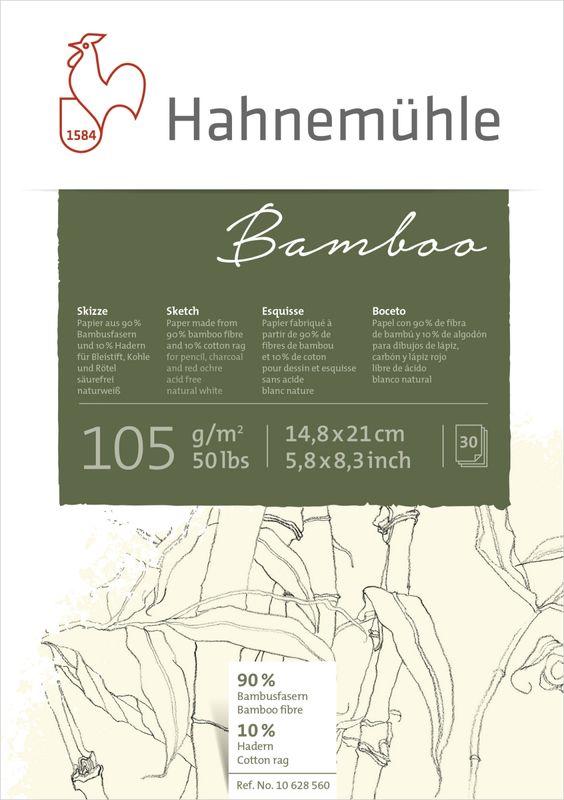 10628560 BAMBOO SKETCH, 105 GSM, BLOCO DE DESENHO,