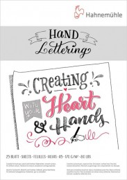 10628990 Hand Lettering,170g A5 Bloco de Leterring