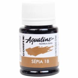 AQUALINE AQUARELA  LIQ. SEPIA 18 (37 ML) UN