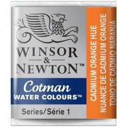 Aquarela Cotman W&N Cadmium Orange Hue HalfPan 090
