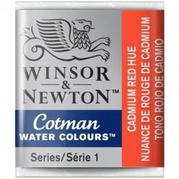 Aquarela Cotman W&N Cadmium Red Hue Half Pan 095