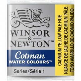 Aquarela Cotman W&N Cadmium Yellow Pale Hue H. 109