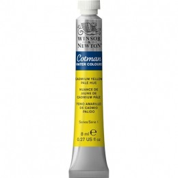 Aquarela Cotman W&N Cadmium Yellow Pale Hue Tb 119