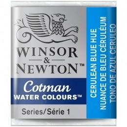 Aquarela Cotman W&N Cerulean Blue Hue Half Pan 139