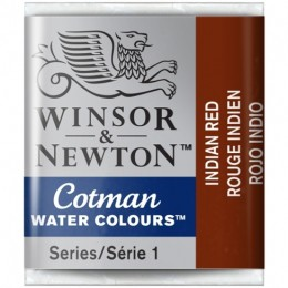 Aquarela Cotman W&N Indian Red Half Pan 317