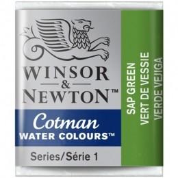 Aquarela Cotman W&N Sap Green Half Pan 599