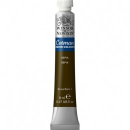 Aquarela Cotman W&N Sepia Tubo 8ml 609