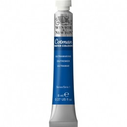 Aquarela Cotman W&N Ultramarine Tubo 8ml 660
