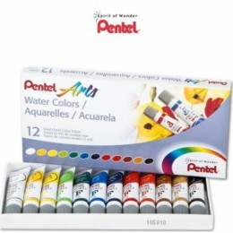 Aquarela Pentel Arts Water Colors com 12c WFRS-12