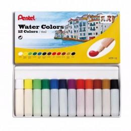 Aquarela Pentel Water Colors com 12c HTP-12