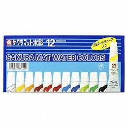 Aquarela Sakura Water Colors com 12 cores (EMW12)
