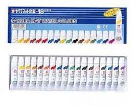 Aquarela Sakura Water Colors com 18cores(EMW18)
