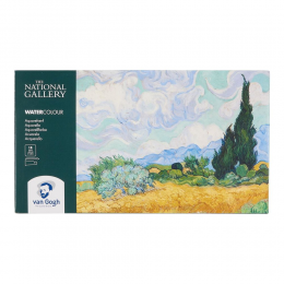 Aquarela Van Gogh estojo  18 + 2 NATIONAl GALLERY