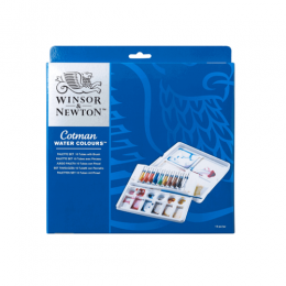 Aquarela W&N Cotman Palette Set 10 Cores 0390646