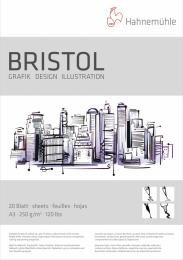 Bloco Bristol 250g Tam 29,7x42  A3 20 FLS 10628723