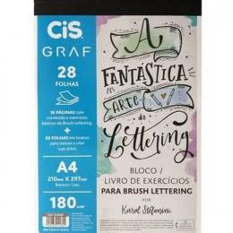 Bloco Livro De Exercícios Para Brush Lettering Cis