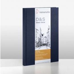 D&S SKETCH BOOK 140g CP AZUL A4 RETRATO 10628282