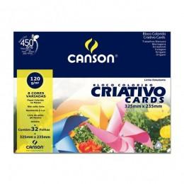 Estudante Criativo 8 cores A4 Canson