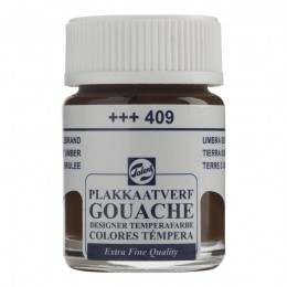 Gouache T Burnt Umber (+++409) Sombra Queimada