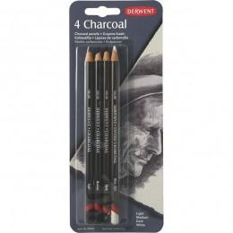 Lápis Carvão c/4 Blister