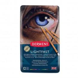 Lápis de Cor Permantente Lightfast 12c Estojo Lata