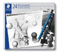 LAPIS PTO STAEDTLER LUMOGRAPH CLASSIC + BLACK EST