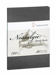 NOSTALGIE SKETCH BOOK 190 GSM, A4 RETRATO10628694