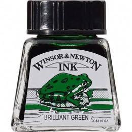 Tinta para Desenho W&N Bril. Green 14ml 1005046