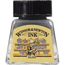 Tinta para Desenho W&N Silver 14ml (1005617)